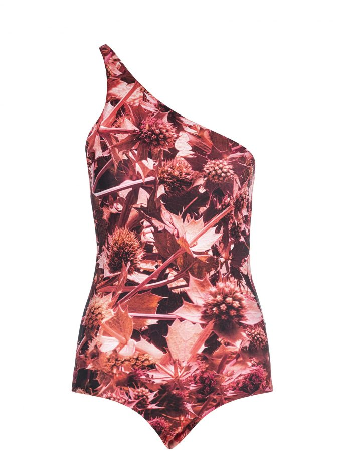 Swimwear | Red Floral